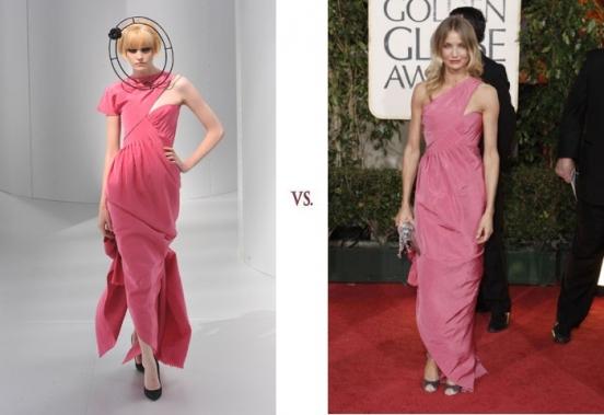 Хайди Маунт VS Камерон Диаз Обе девушки в платье Chanel.