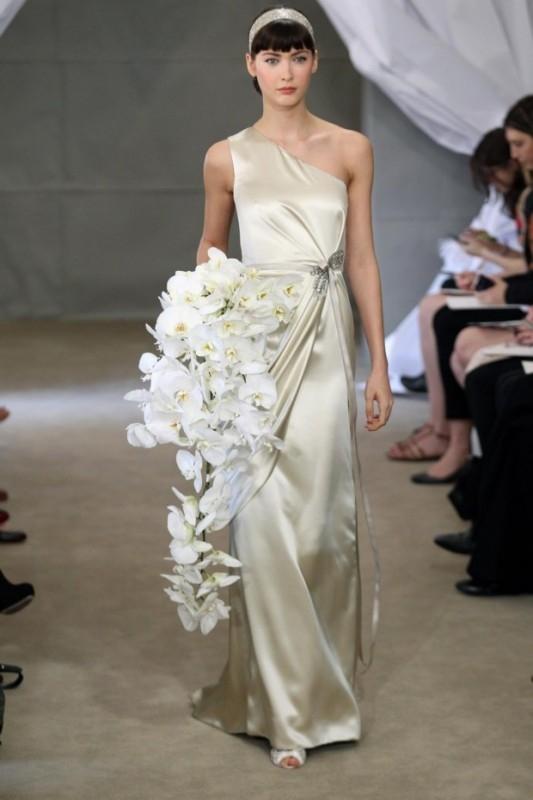 Мода на свадебные платья 2012