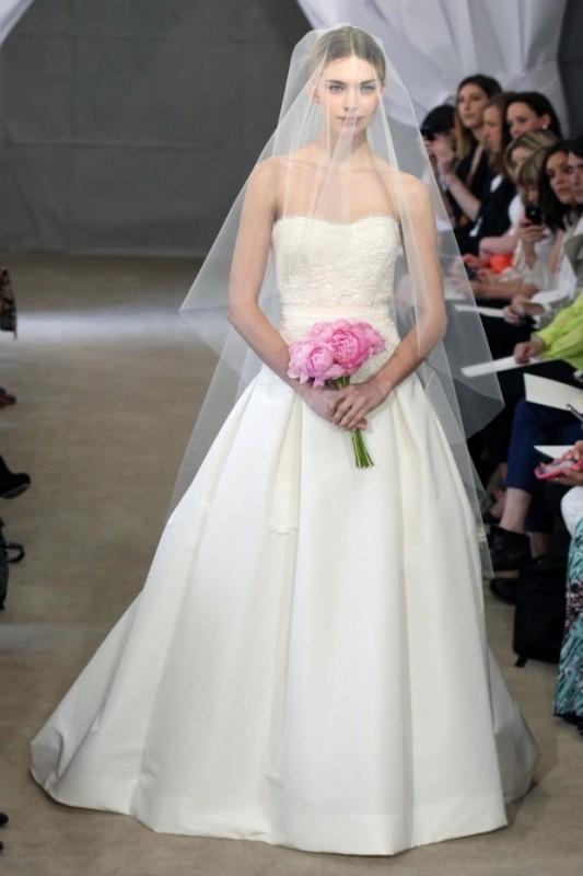 Свадебные платья от каролины херрера