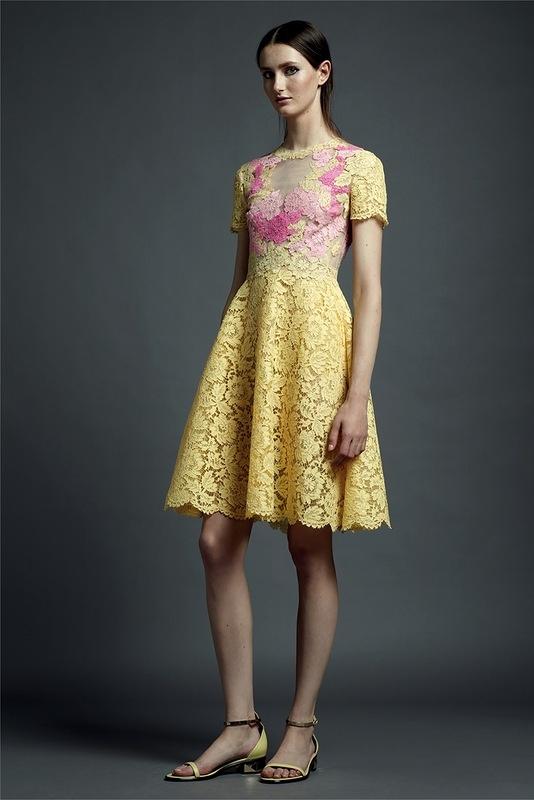 2c1b0c014fa7ece Коллекция валентино кружевные платья - Модадром