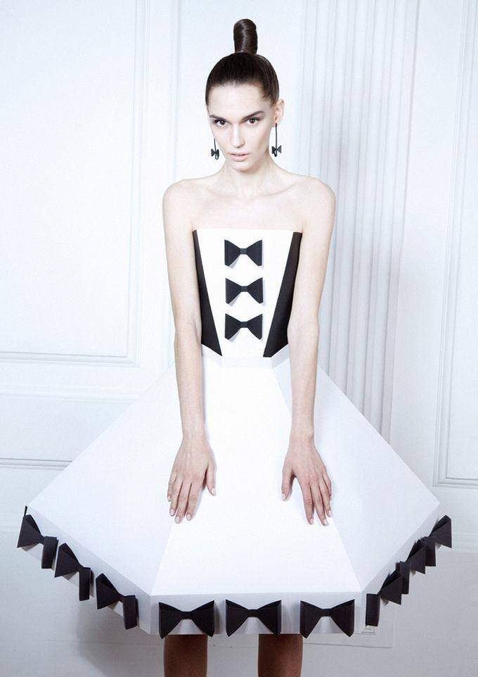 Авангард платье для конкурса