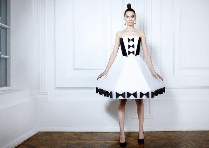 Как сшить платье практически из ничего