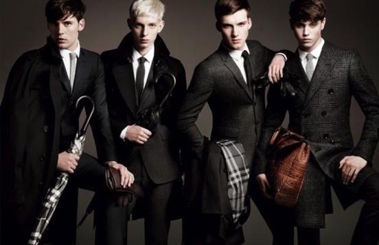 консервативный стиль мужской одежды.