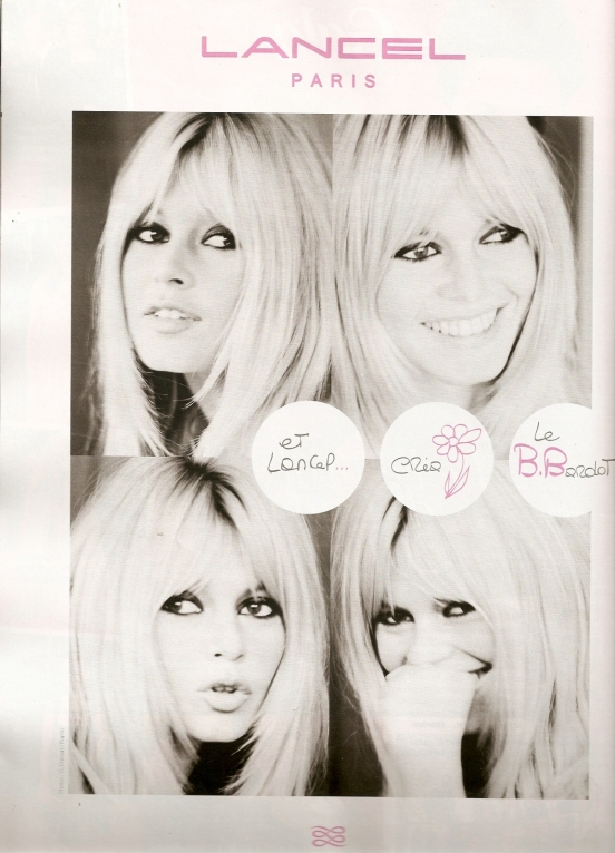Lancel le Brigitte Bardot.