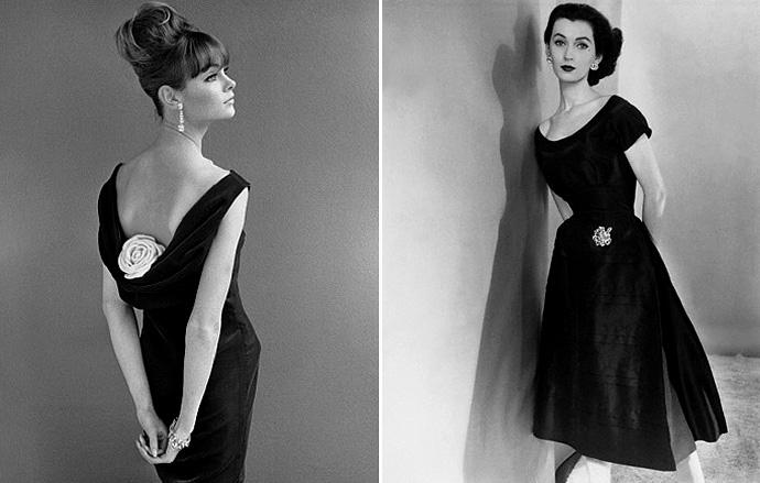 коко шанель в маленьком черном платье фото