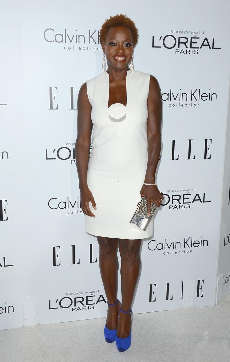 Elle Women in Hollywood 2012: кто в чем? / фото 2018 Клатч Конверт Белый