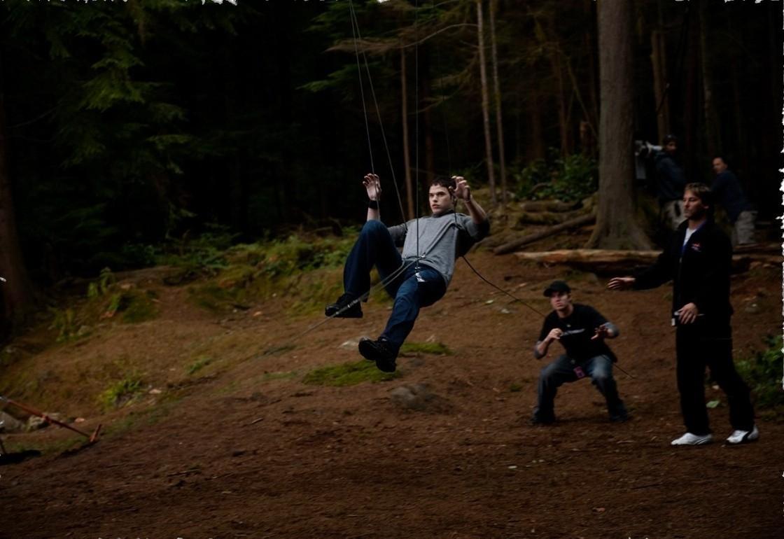 Сумерки как снимали волков видео о игра губка боб