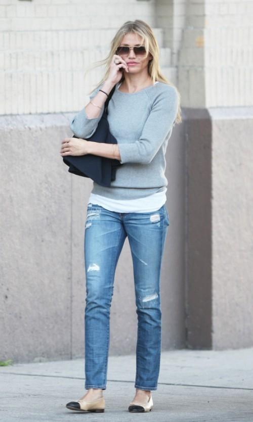Как сделать рваные джинсы? Фото + Видео + Стиль -