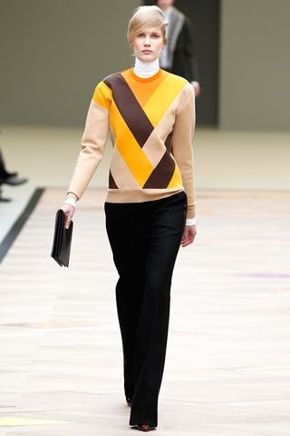 свитера осень 2011- зима 2011-2012 от Celine.