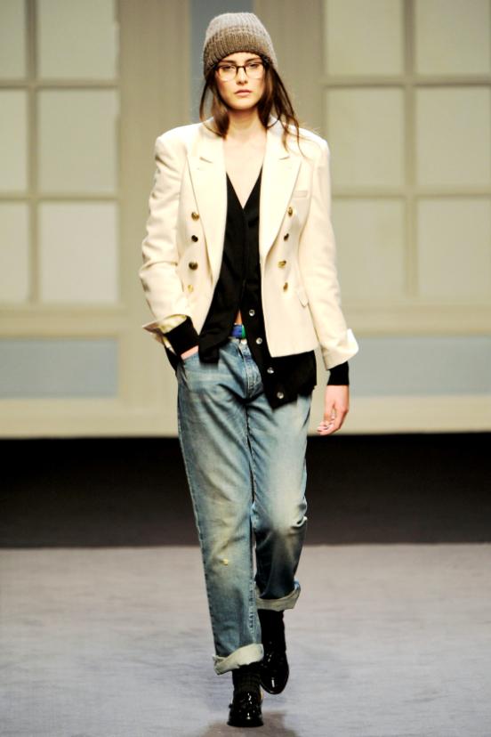 Описание: Что модно осенью 2012.  На фото: модные.