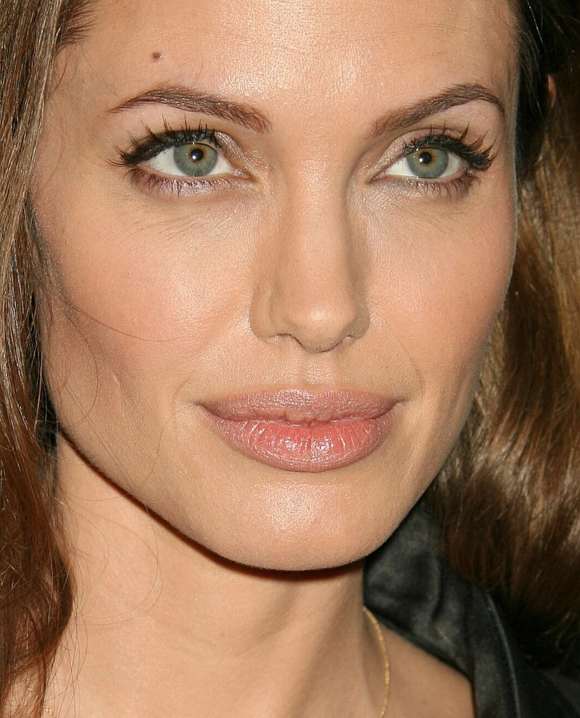 Анджелина джоли фото макияжа глаза