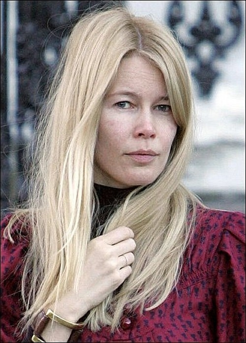 Клаудия шиффер без макияжа и фотошопа