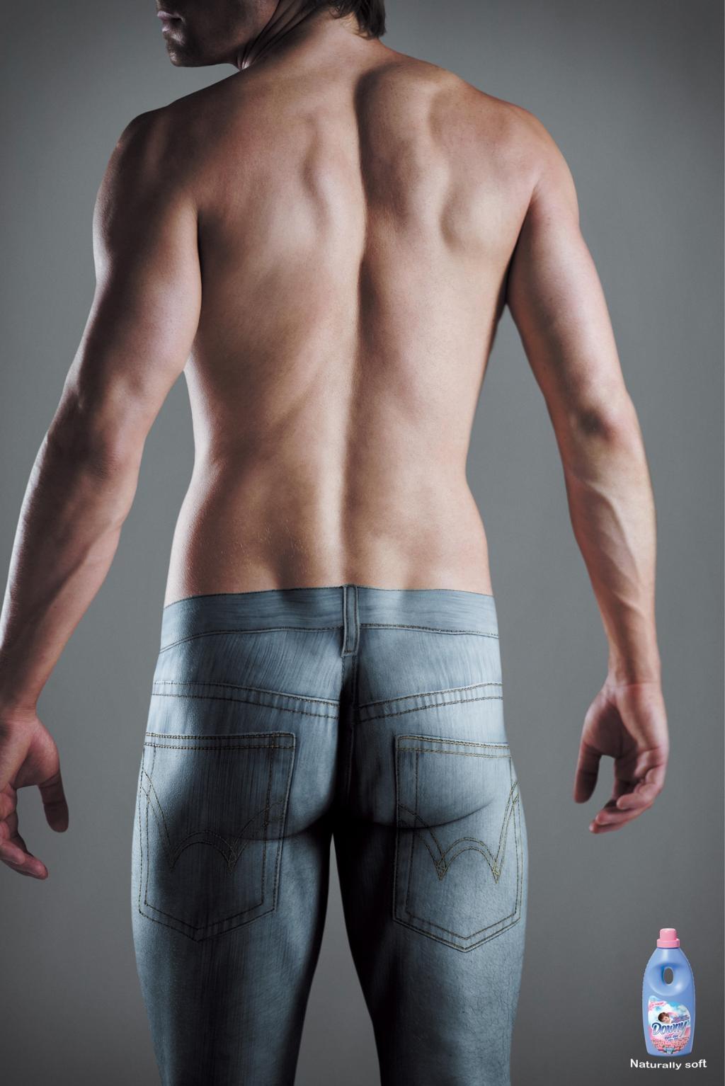 Раскраска голого тела 1 фотография