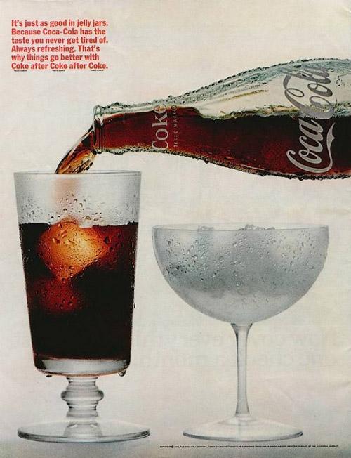 История Coca Cola в картинках.