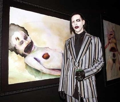 Мэрилин Мэнсон — художник, который сам себе на уме / фото 2017: http://vev.ru/blogs/merilin-menson-hudozhnik-kotoryy-sam-sebe-na-ume.html