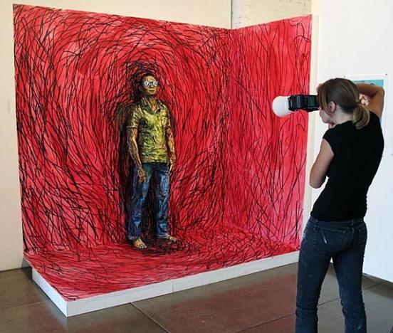 """ალექსა მიდის :  """"ცოცხალი ნახატები"""""""