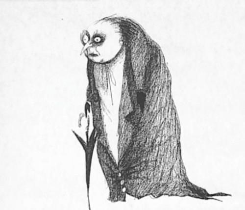 Тим бартон его рисунки