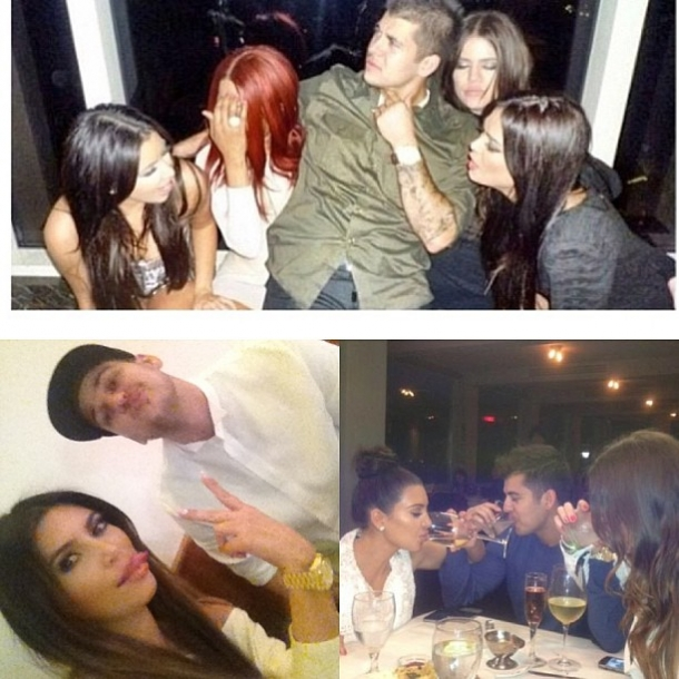 Kim Kardashian-ის პირადული ფოტოები