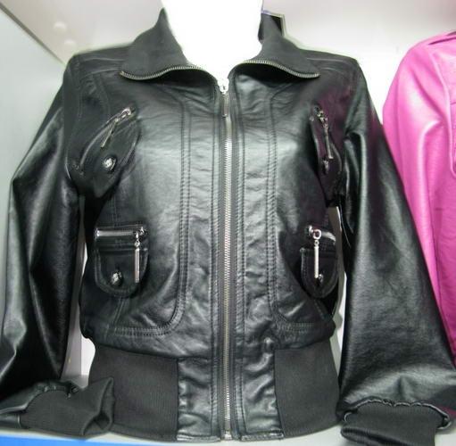 Куртка кожзам черная. куртка кожзам.