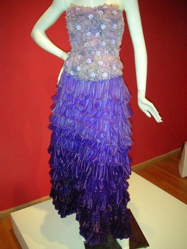 Платье из подручных материалов своими руками пошагово