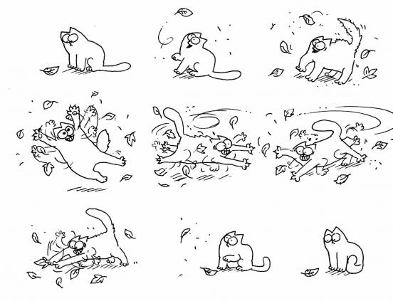 Коты саймона любовь