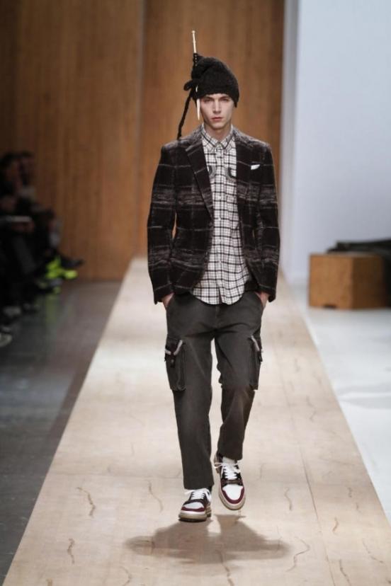 Модная мужская одежда осень-зима 2011-2012 от Frankie Morello.