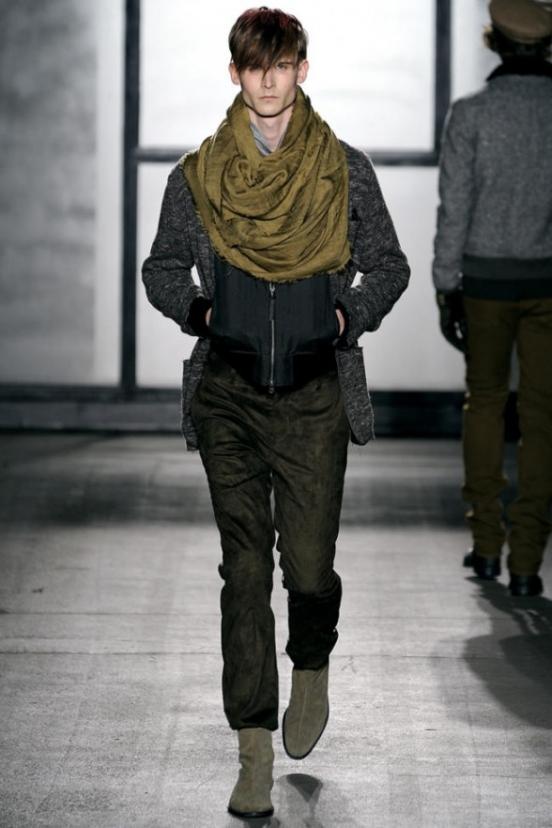 мужские шарфы как завязывать.