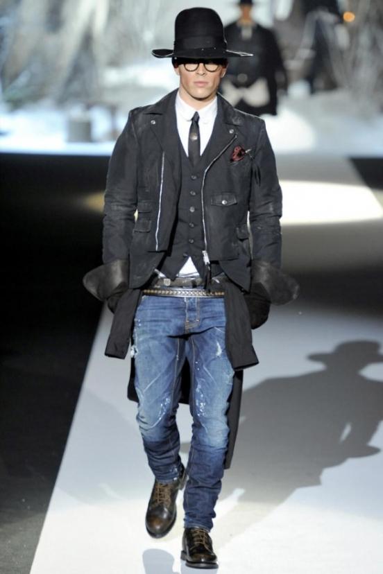 Duckie Brown видит модного мужчину в свободной одежде, предлагает...