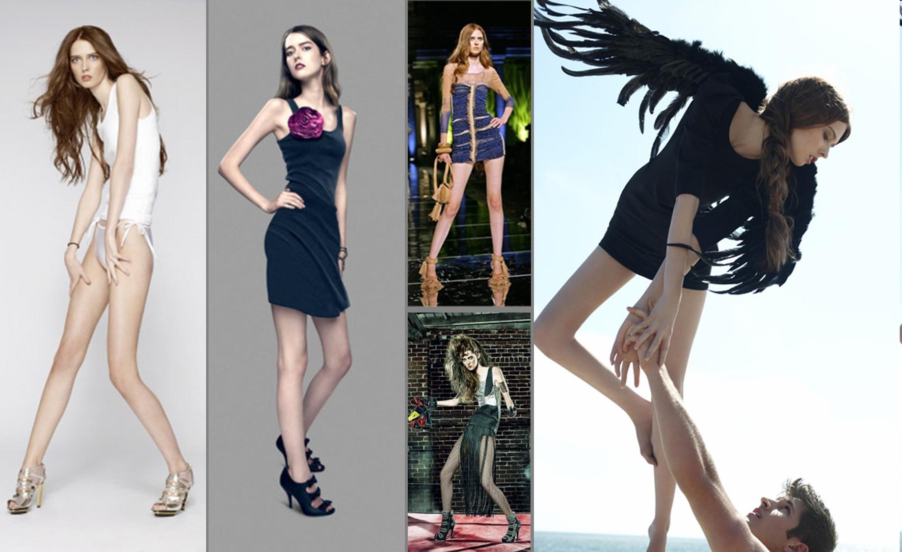 Худые модели онлайн 6 фотография