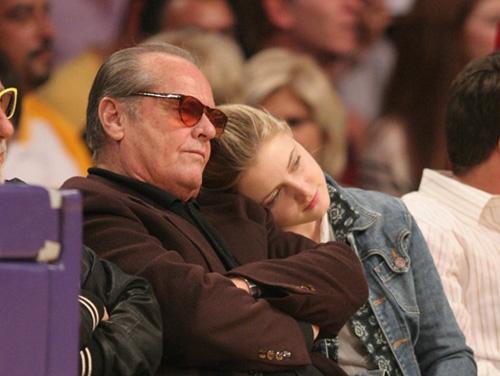 Джек Николсон с дочерью