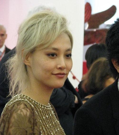 Волосы светлые японские