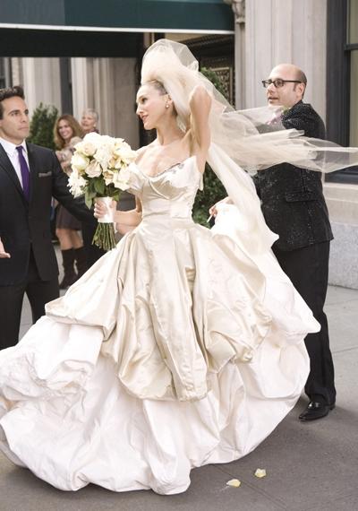 Свадебное платье на саре джессике паркер