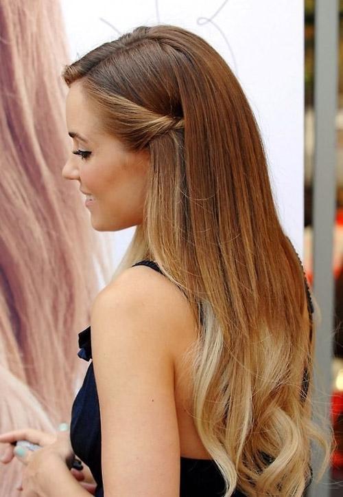 11lauren conrad Весільні зачіски: приклад зірок / фото