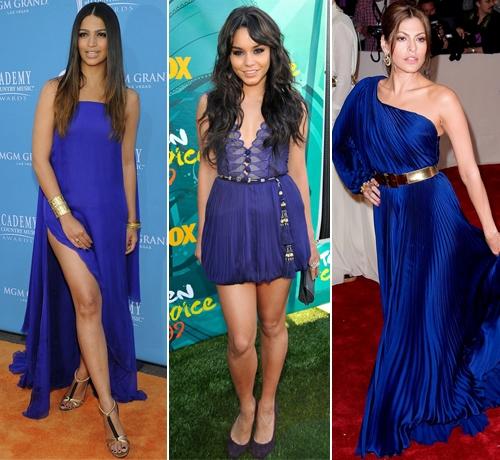 Короткие платья у звезд