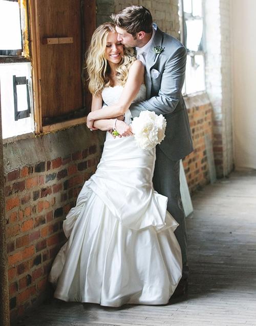 В свадебных платьях monique lhuillier фото