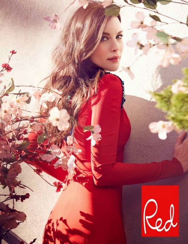 Liv Tyler covers Red Magazine
