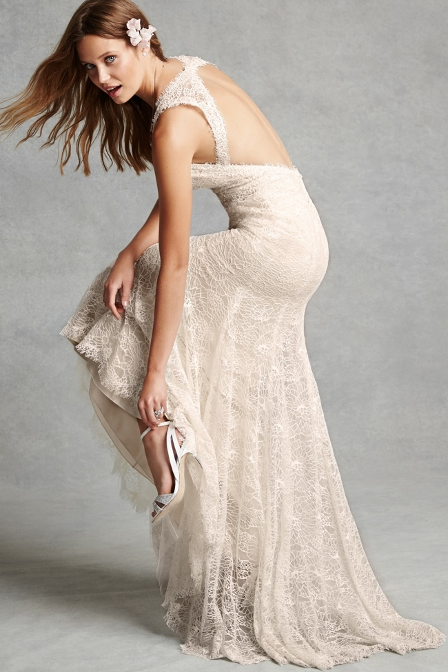 Gorgeous Wedding Dresses With Tiered Skirts  BridalGuide