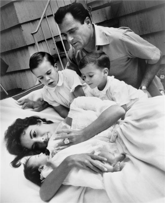 фото элизабет тейлор с детьми