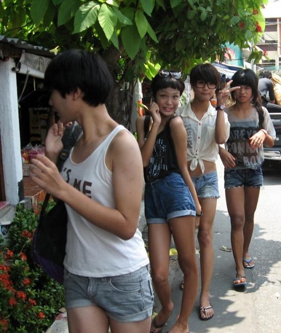 Секс с тайскими мальчиками 3 фотография