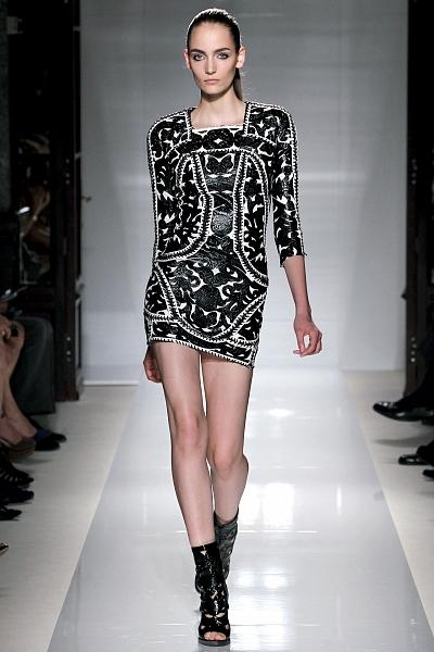Неделя моды в Париже: Balmain Spring 2012.