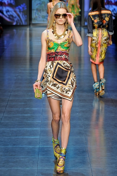 Неделя моды в Милане: последняя коллекция D&G (45 фото)