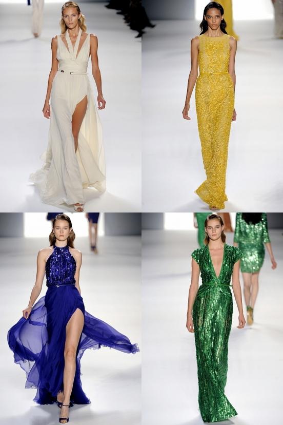 Длинные вечерние платья 2012 Ральф Лорен предлагает носить с.
