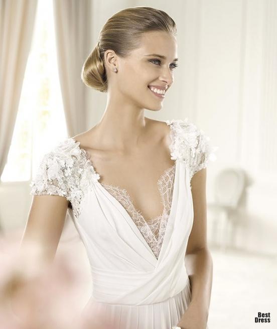 Весільні сукні з іспанії pronovias 2013