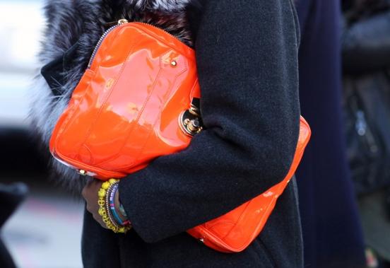 Неделя моды в Нью-Йорке Street Fashion.