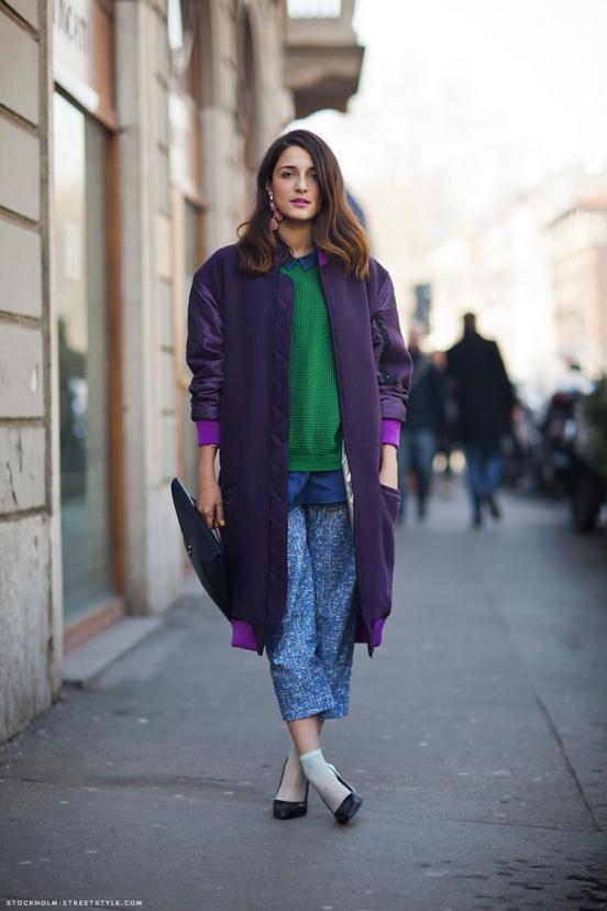 Уличная мода Италии: блоггеры / фото 2019