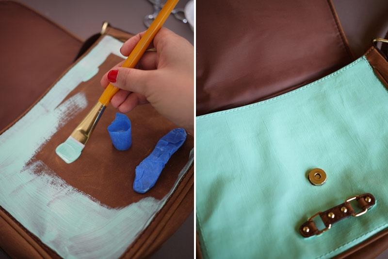 Преобразить сумку своими руками