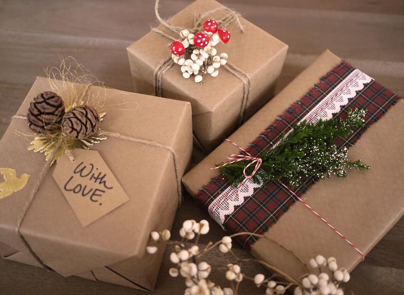 Своими руками упоковать подарок