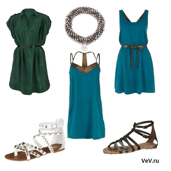платья в греческом стиле весна-лето 2013