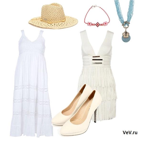 белые платья весна-лето 2013