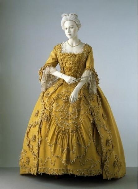Стиль платьев 17 века